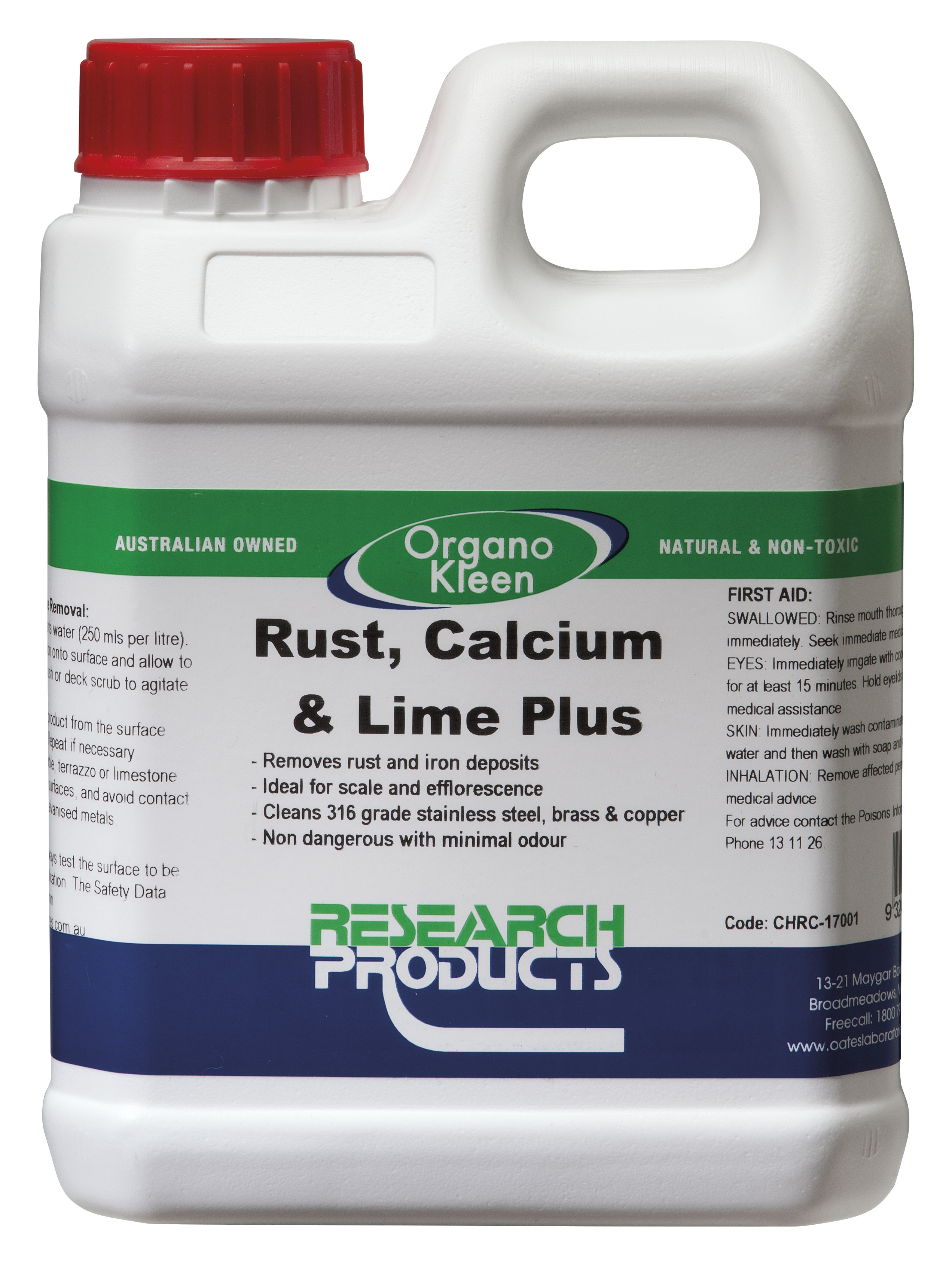 Research Rust Calcium Lime Plus Bore and Hard Water Stain Remover ...