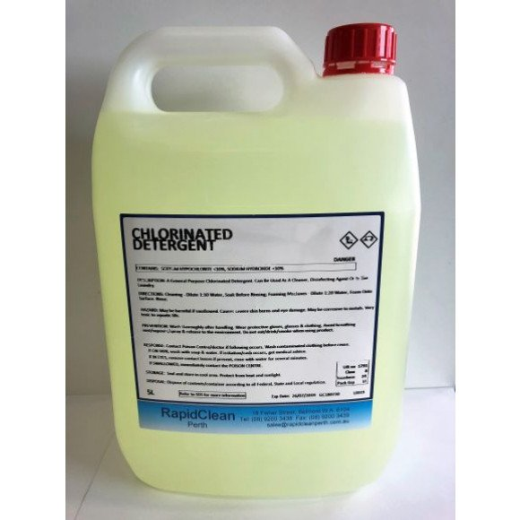 Chloroclean Chlorinated Detergent 5L