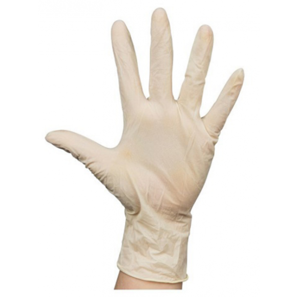 Latex Powder Free Disposable Gloves X/Large Box of 100